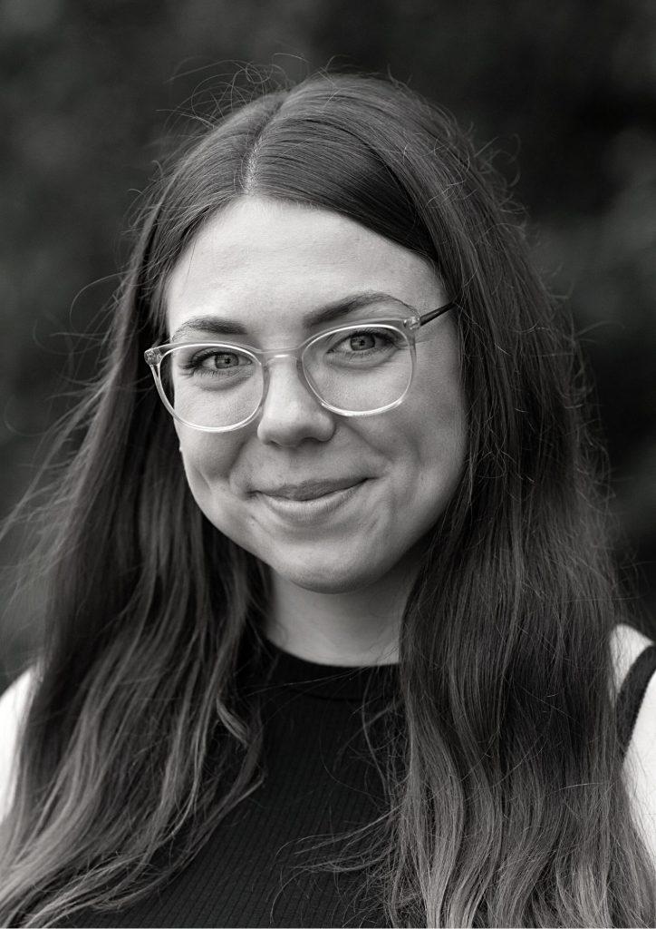 Katharina Zimmermann - Projektmanagerin bei Grubengold, für nachhaltiges Innovationsmanagement.